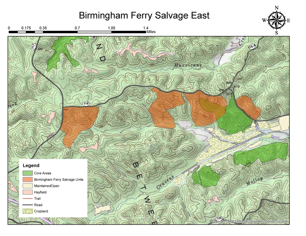 Birmingham Salvage East Map